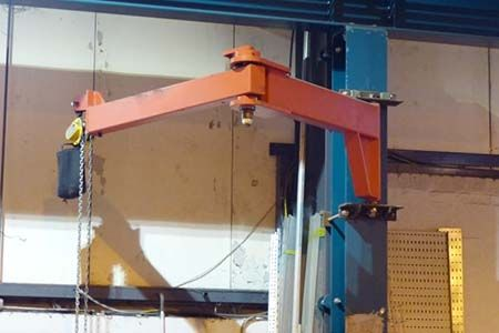 Articulating Jib Crane Cranes For Sale Crane Wood Building