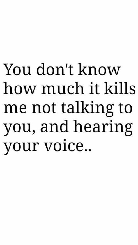 Soulmate Quotes : It kills me everyday that i can't talk to u..