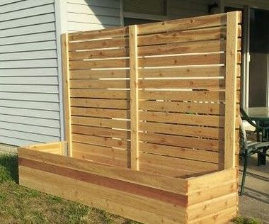 35 Perfect Backyard Privacy Fence Decor Ideas On A Budget. If you are looking for Backyard Privacy Fence Decor Ideas On A Budget, You come to the right place. Below are the Backyard Privacy Fence Dec. Raised Planter Beds, Raised Garden Beds, Raised Beds, Raised Gardens, Privacy Landscaping, Privacy Fences, Landscaping Ideas, Landscaping Software, Privacy Screens
