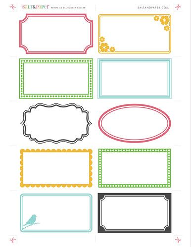 Printable Labels From Saltandpaper Com Labels Printables Free Templates Free Printable Business Cards Card Templates Printable