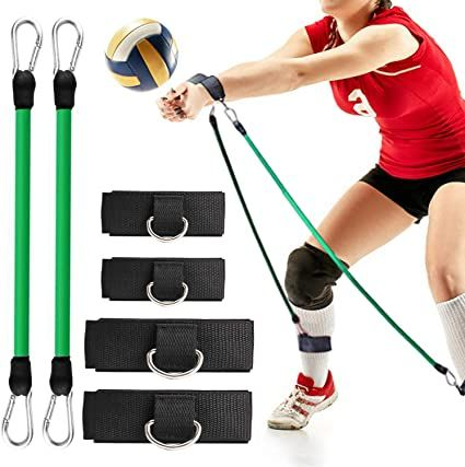 Tobwolf Volleyball Training Pass Rite Aid Resistance Band Elastic Pull Rope Exercise Resistance Bands Vo In 2020 Volleyball Training Agility Training Resistance Band
