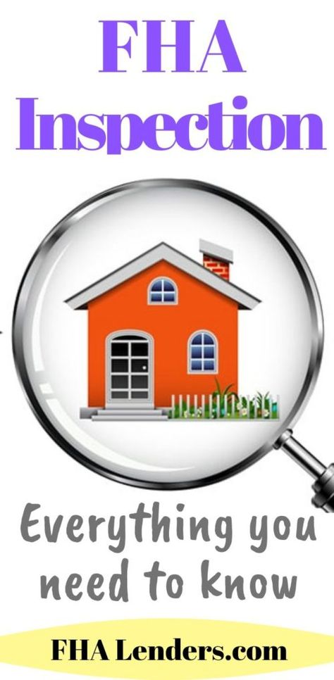 Fha Inspection And Appraisal Guidelines Fha Inspection Mortgage