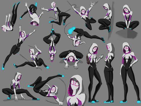 Spider woman by spaceMAXmarine on DeviantArt