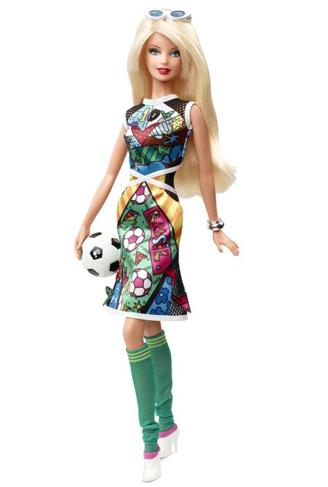 2014 Britto Barbie® Doll | Barbie Collector, Designed by: Linda Kyaw   Release Date: 5/5/2014   Product Code: BCP98 ,