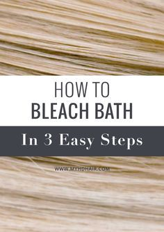 Bleach bathing is another approach to the Bleaching process. It is a perfect step by step process that is not as strong, so it is not as damaging as the full strength Bleaching process. It is ideal to use to remove Colour, one shade at a time, or Lighten your Hair in a gentler process.