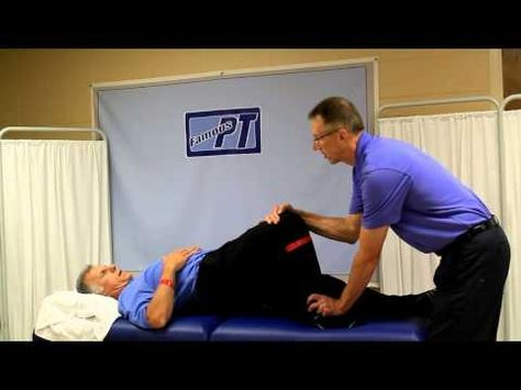 Best Stroke Rehab Approach-Getting out of Bed and Sitting Balance. - YouTube