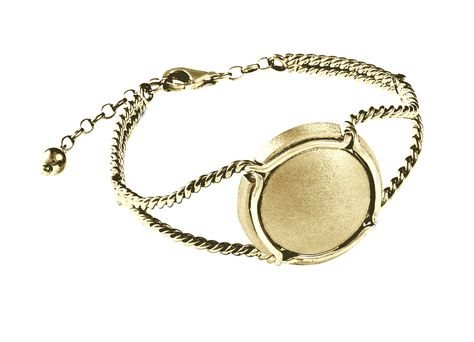 """Bijou fantaisie idée cadeau Bracelet message noir /""""Je t/'aime à la folie/"""""""