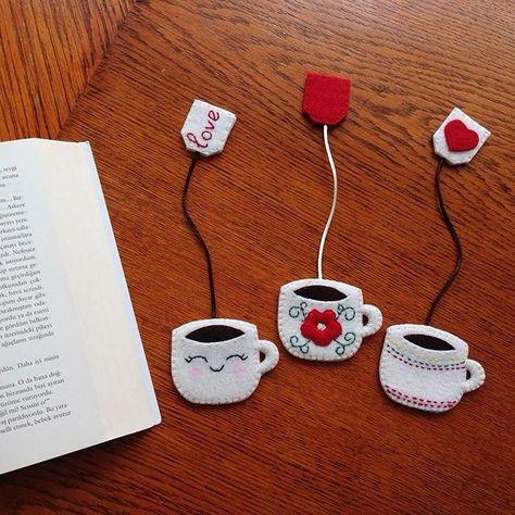 Flag Felt Page: 58 Ideas to Get Inspired – Felt School – Artesanato Infantil Felt Crafts Diy, Felt Diy, Cute Crafts, Fabric Crafts, Sewing Crafts, Arts And Crafts, Book Crafts, Creative Bookmarks, Diy Bookmarks