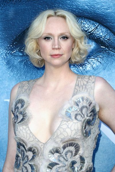 Actor Gwendoline Christie attends the premiere of HBO's 'Game of Thrones.'