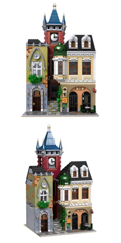 Lego Custom Instruction Old Town Pub Lego Instruction Manuals