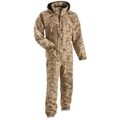 fair price detailed pictures cheap for sale USMC Military Surplus GORE-TEX Lightweight Exposure Suit ...