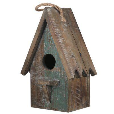 Urban Trends 12 5 In X 8 In X 5 5 In Birdhouse Wayfair In 2020 Bird House Unique Bird Houses Wooden Bird Houses