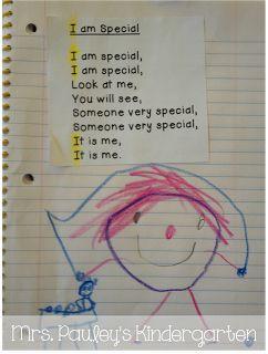 Poem of the Week Poetry Journals in Kindergarten!