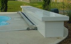 Automatic Pool Covers Also Known As Inground Pool Safety Covers