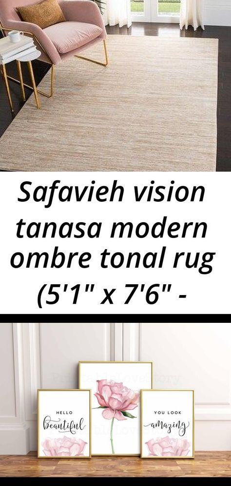 Safavieh vision tanasa modern ombre tonal rug (5'1