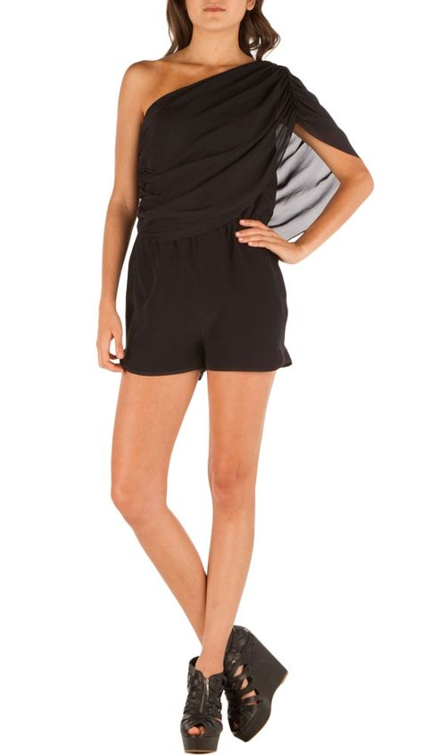 Ophelia Shoulder Romper