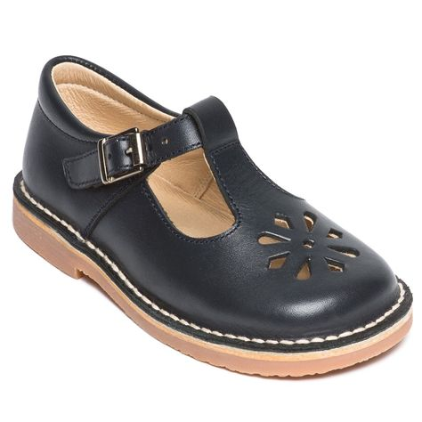 Navy blue t-bar #school_uniform_shoes for girls and boys