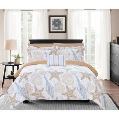 Eula Bed In A Bag Comforter Set Chic Home Modern Comforter Sets Chic Home Duvet Cover Sets