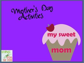 Mothers Day Writing & Book