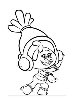 Les Trolls Dj Suki Monster Coloring Pages Poppy Coloring Page Cartoon Coloring Pages