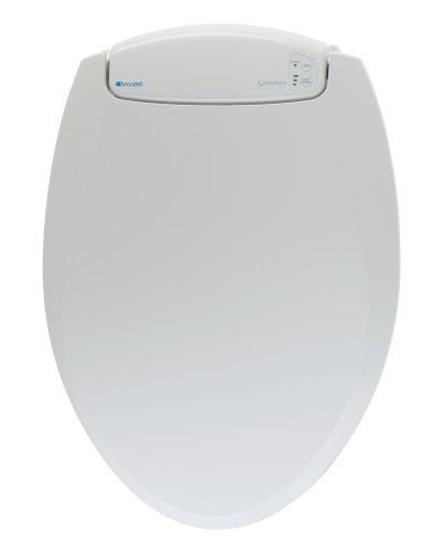 Brondell L60 Rw Lumawarm Heated Nightlight Round Toilet Seat