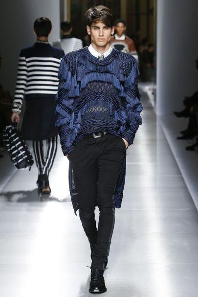 Balmain Spring/Summer 2018 Menswear | British Vogue