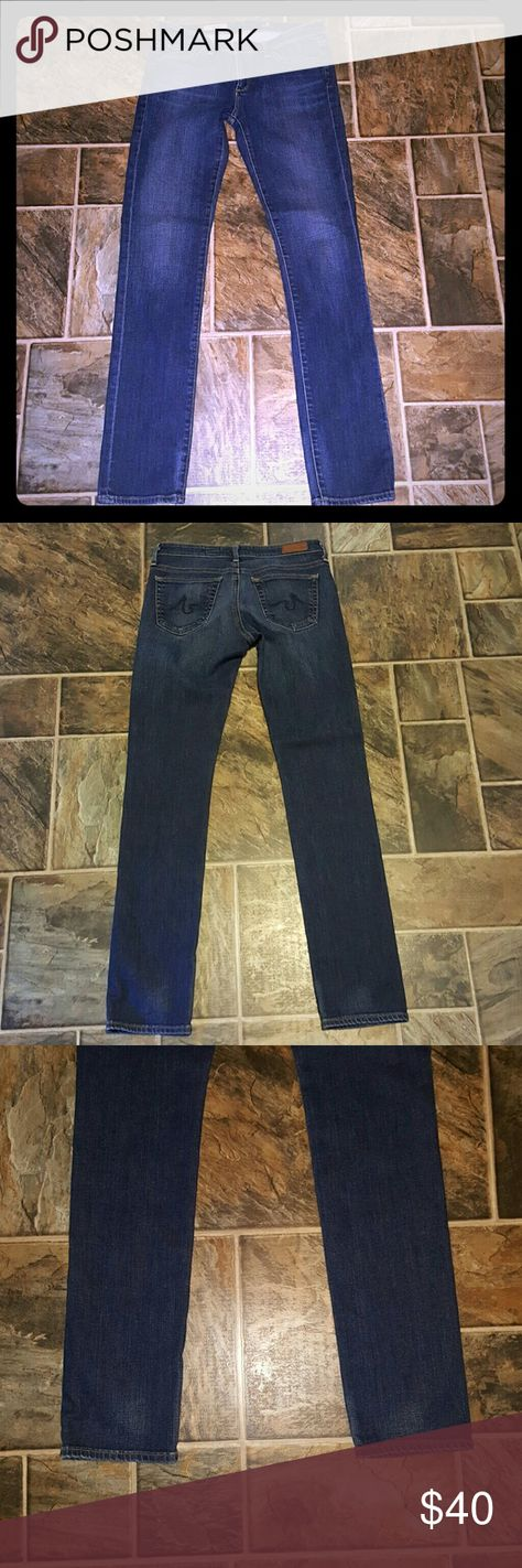*SUNDAY SALE*Adriano Goldschmied Stevie Jeans Great condition. Medium wash. 27 R. Slim straight AG Adriano Goldschmied Jeans