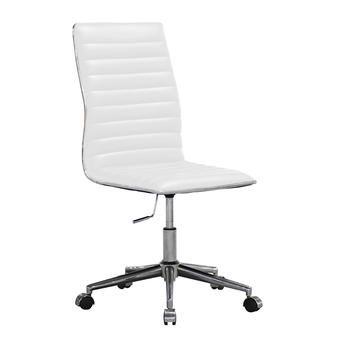 0714554cf Cadeira de Escritório Secretária Giratória Marilyn Plus Branca ...
