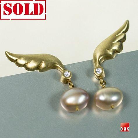 18k or 14k Pure Solid Gold Elongated Diamond Chandelier Icy Quartz Drop Earrings