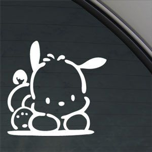 POCHACCO DOG PET Decal Car Truck Window Sticker Amazoncouk - Car window stickers amazon uk