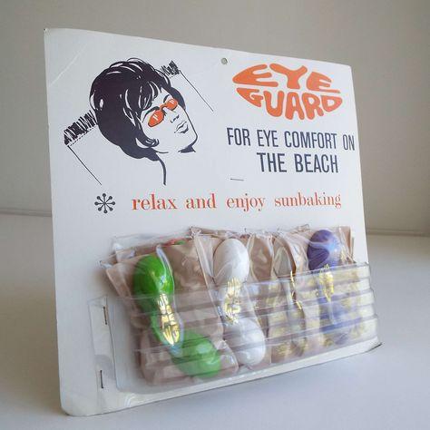Vintage 1950's 1960's Australian Eye Guards For | Etsy