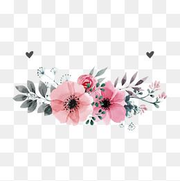 Pink Flowers Vector In 2020 Vector Flowers Flower Logo