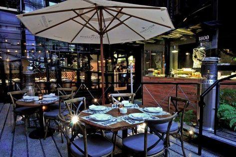 10 Increíbles Terrazas Para Cenar Delicioso En Polanco