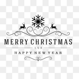 Title Box Snowflake Deer Merry Christmas Christmas Vector Material Christmas Pictures Creative C Christmas Picture Background Christmas Vectors Merry Christmas