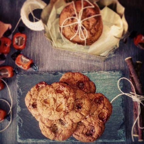 Cookies Con Toffee Alla Liquirizia Adoro Fare I Biscotti Sono Dei