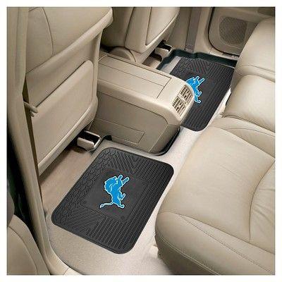 Nfl Fan Mats 2 Utility Mats Detroit Lions Durable Nfl Fans Jacksonville Jaguars Nfl