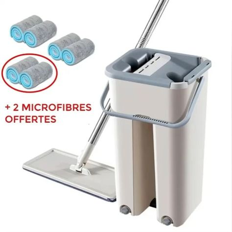 Convenient storage, saves the space, does not occupy the land, reduces the bacterium multiplication. Fits: Room, Wall, Window, Ceiling Superfine fiber mop, it has strong adsorbability. Simply slide the lever upwards and downwards to squeeze the water and dust out easily. Also the mop can stand upright alone to save space and keep the mop head dry