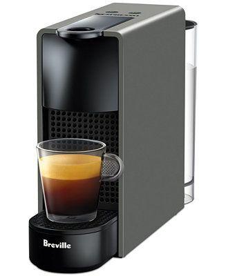 Nespresso By Breville Essenza Mini Espresso Machine Reviews Coffee Makers Kitchen Macy S In 2020 Capsule Coffee Machine Nespresso Nespresso Essenza