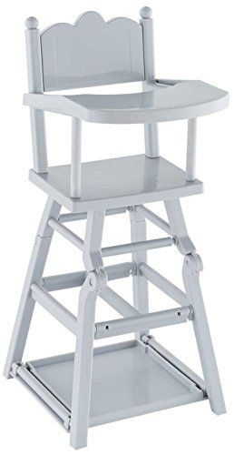 Corolle Frv07 Chaise Haute Pour Poupon 36 Cm 42 Cm Des 3 Ans 1 Chaise Haute Pour Poupon A Table La Chaise Haute Cerise Est Adaptee