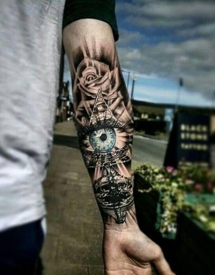Tattoo Antebrazo Hombre Realismo 68 Ideas Antebrazo Coupletatto Hombre Ideas Realismo Tatuaje Media Manga Hombre Tatuajes De Moda Tatuajes En Biceps