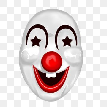 Clown Mask Toy Clown Mask Png Transparent Clipart Image And Psd File For Free Download Clip Art Clown Mask Paint Background