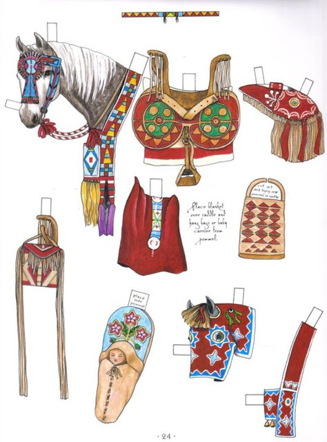 Native American Sadlery - slliver20002001@y socialstudy - Picasa Webalbum* 1500 free paper dolls at Arielle Gabriel's The International Paper Doll Society and also free China and Japan paper dolls at The China Adventures of Arielle Gabriel *