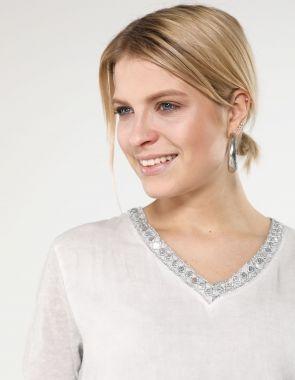 Bluzki damskie koszulowe, wizytowe, eleganckie, z długim i
