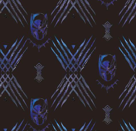 Black Panther Black Version - Officially Licensed Marvel Peel & Stick Wallpaper 24