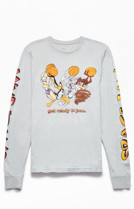 Space Jam Long Sleeve T Shirt Shirts Long Sleeve Tshirt Sleeves