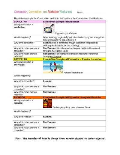 39+ Thermal energy transfer worksheet Information