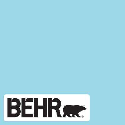 Behr Marquee 1 Gal P480 3 Cool Water Lake Satin Enamel Interior Paint And Primer In One 745001 The Home Depot In 2020 Aqua Paint Colors Blue Paint Colors Paint Colors