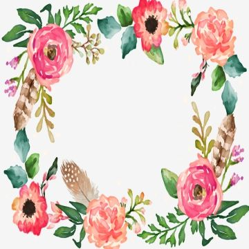 Granica Kwiatow Kwadratowa Ramka Granica Kwiatow Granica Png I Plik Psd Do Pobrania Za Darmo Flower Border Clipart Flower Border Flower Border Png