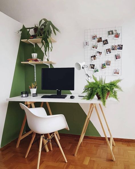 20 Inspirational Home Office Decor Ideas For 2019 20 Inspirational Home Office D. - 20 Inspirational Home Office Decor Ideas For 2019 20 Inspirational Home Office Decor Ideas For 2019 - Modern Office Decor, Home Office Design, Home Office Decor, Home Design, Interior Design, Home Decor, Office Ideas, Office Inspo, Office Setup