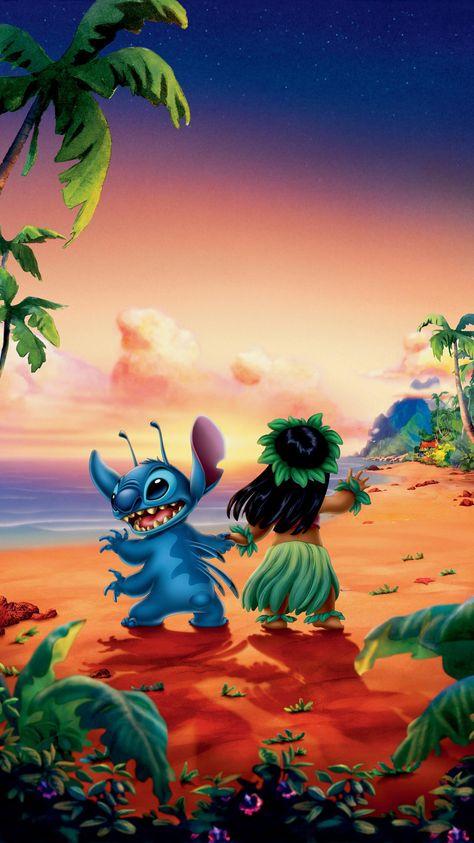 Lilo & Stitch (2002) Phone Wallpaper | Moviemania